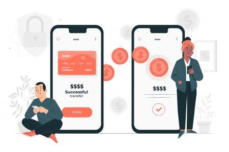Depósito y retiro usando dinero móvil on Exness